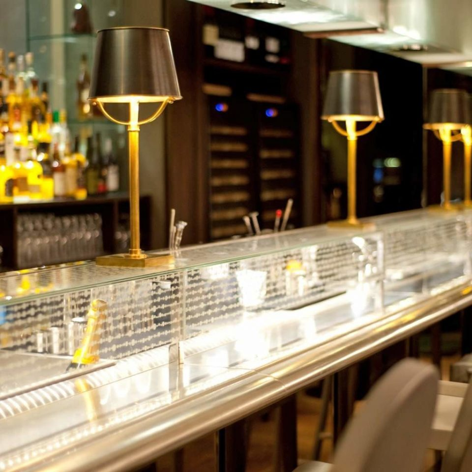 Bar Drink Eat Hip Luxury restaurant counter steel