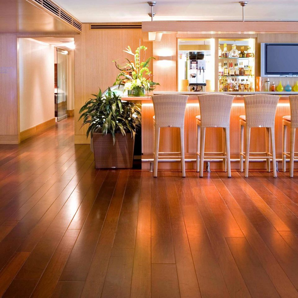 Bar Drink Eat wooden flooring property Lobby hardwood wood flooring home laminate flooring function hall ballroom hard