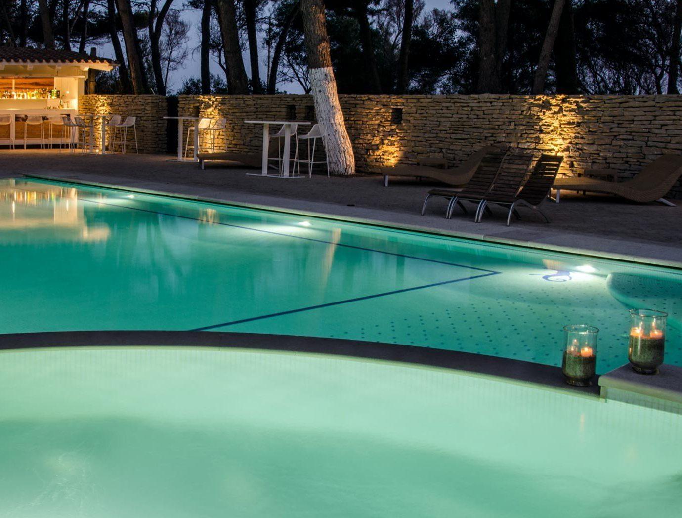 Bar Drink Elegant Lounge Nightlife Patio Pool Rustic swimming pool property leisure reflecting pool backyard blue