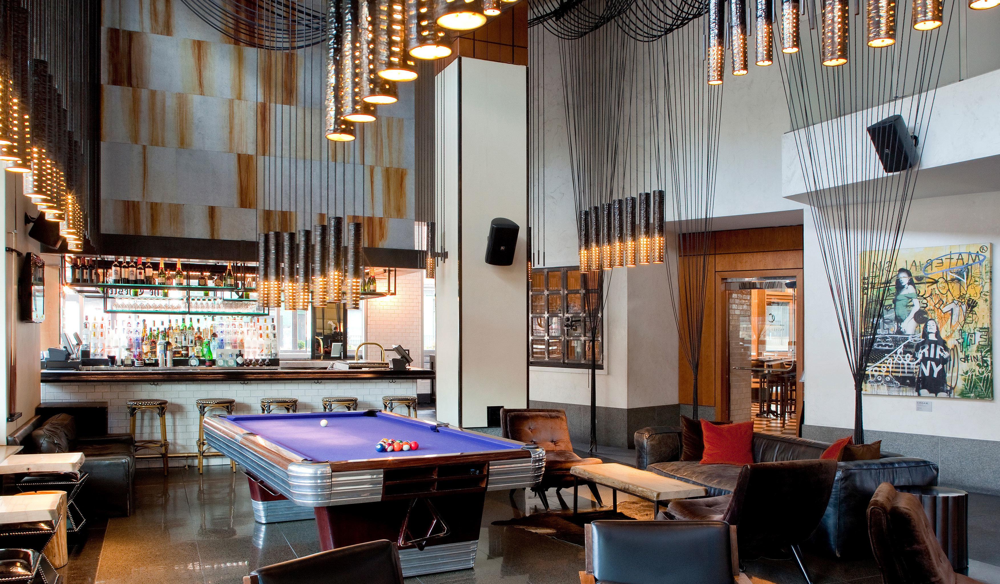 Bar Drink Family Travel Hotels Lounge Modern Nightlife Play building house recreation room home restaurant living room Resort