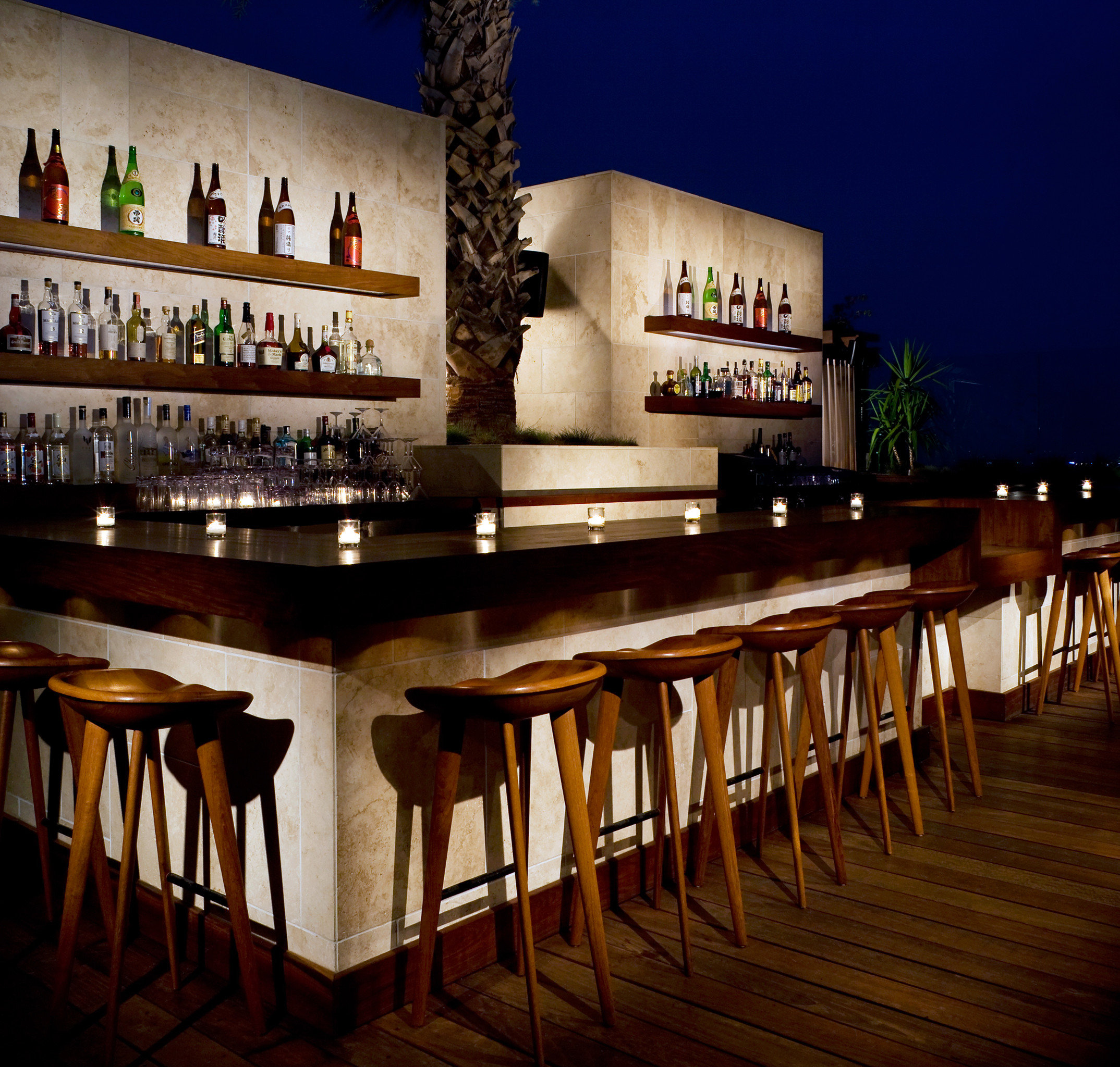 Bar Drink Hip Modern Nightlife Party restaurant night lighting Resort lined