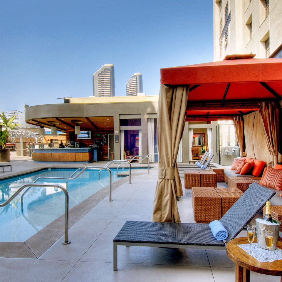 Bar Drink Hotels Lounge Modern Patio Pool Terrace leisure property building house home Resort Villa condominium swimming pool restaurant cottage