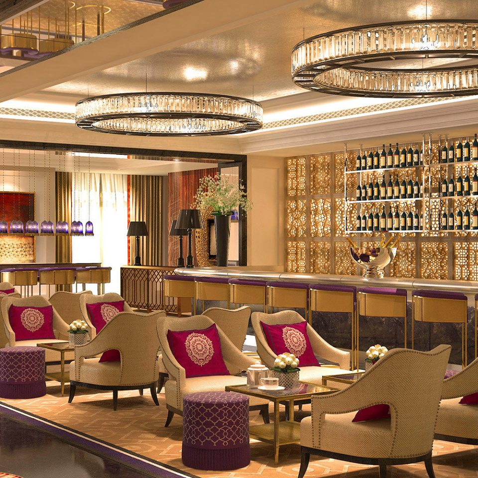 Bar Drink Lounge Resort Lobby restaurant function hall café