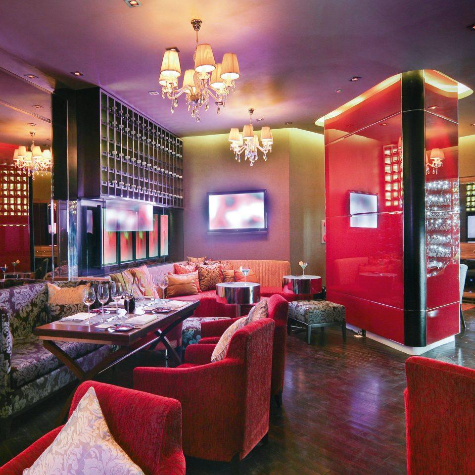 Bar Drink Nightlife Resort red restaurant living room Lobby