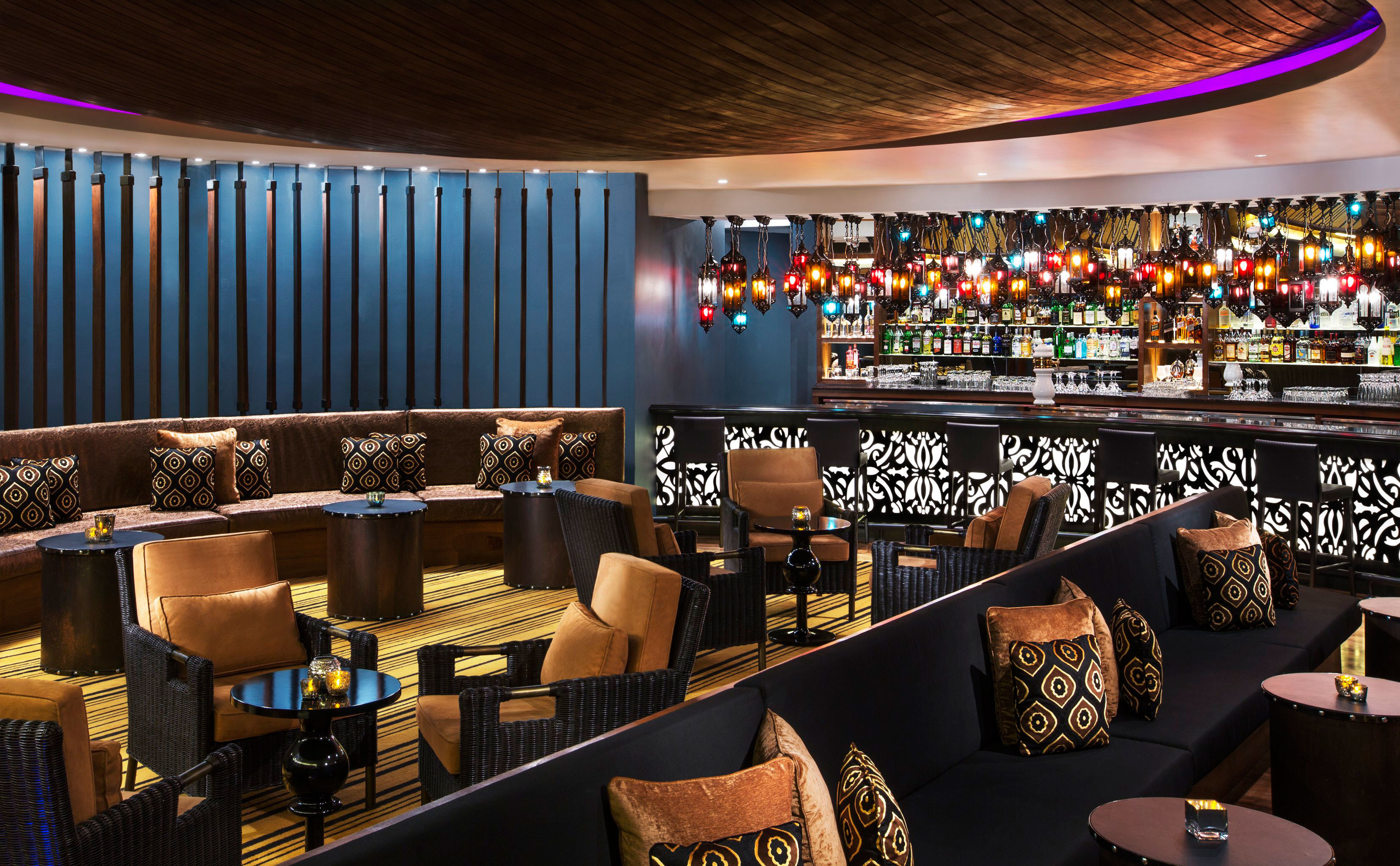Bar Drink Lounge Nightlife Resort function hall nightclub different colorful colored