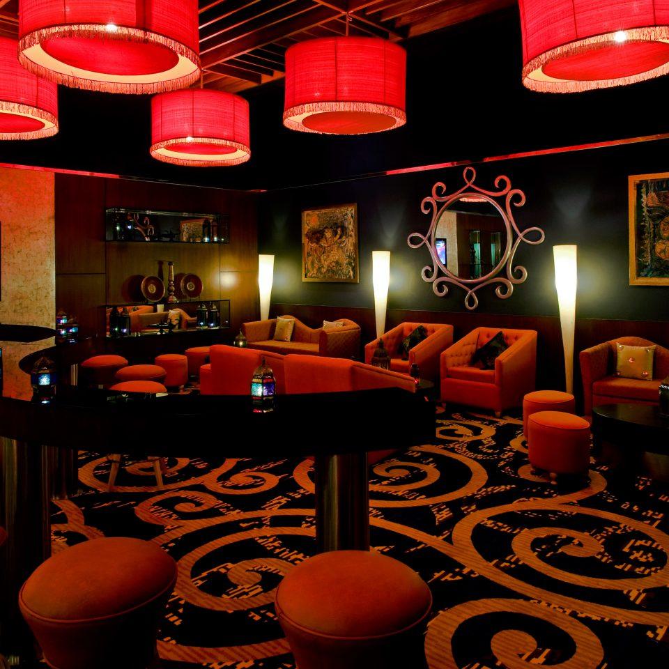 Bar Drink Lounge Resort red restaurant nightclub set colorful