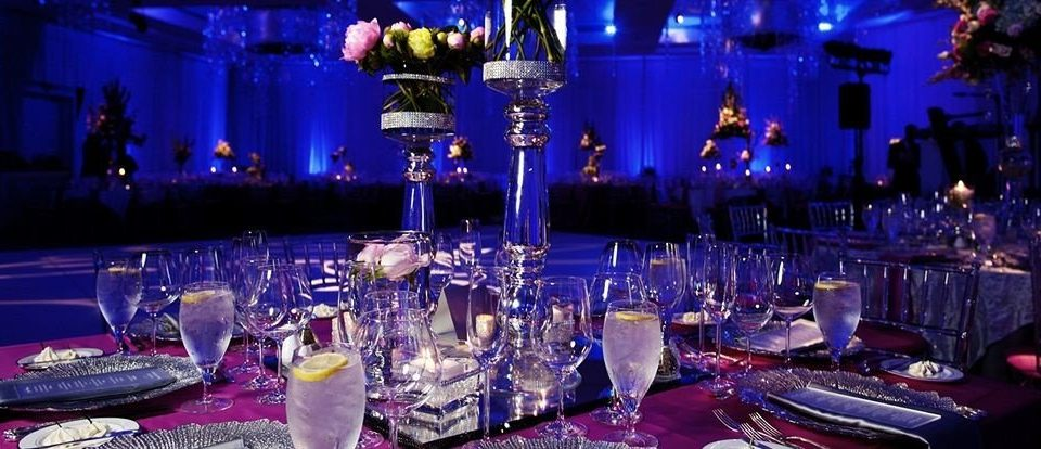 glasses function hall nightclub wedding reception Party quinceañera banquet Bar dinner ballroom Drink drinking