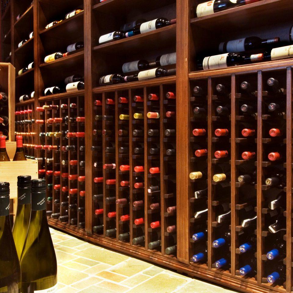 Drink Resort Wine-Tasting Winery man made object wine alcoholic beverage wine cellar shelf Bar basement liquor store