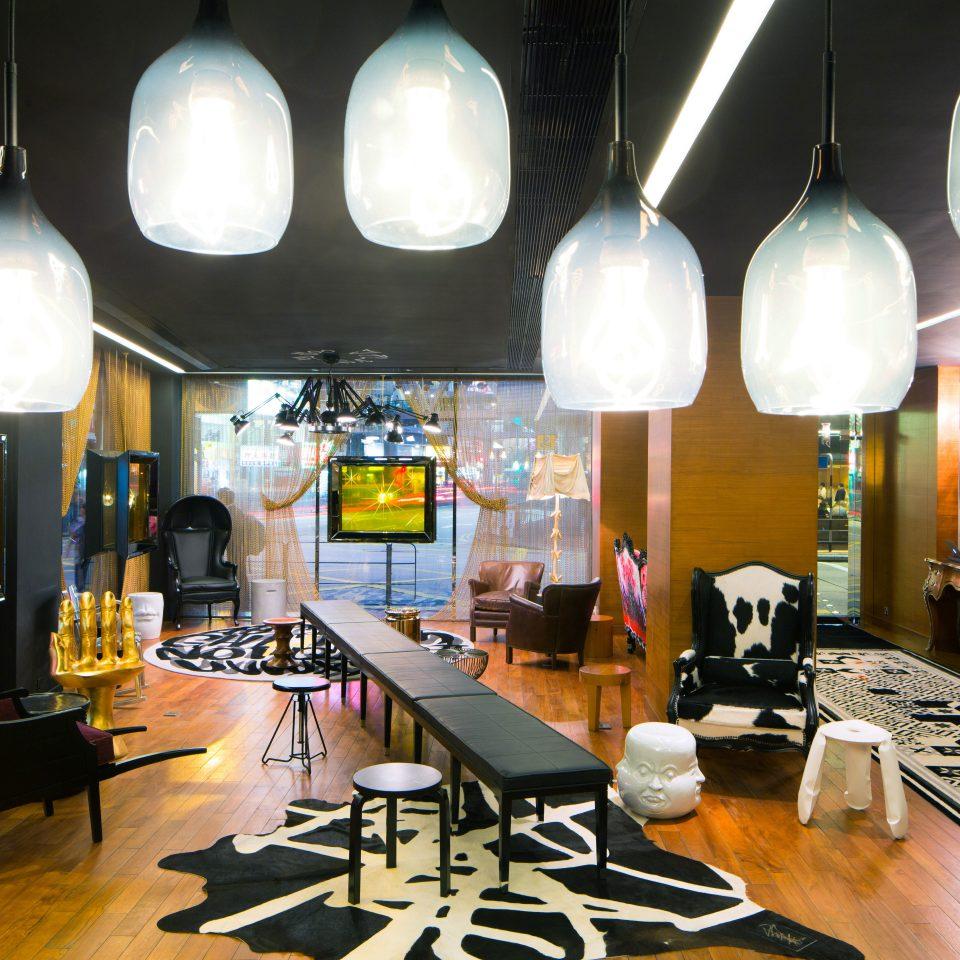 Elegant Hip Lounge Luxury Modern restaurant lighting Bar