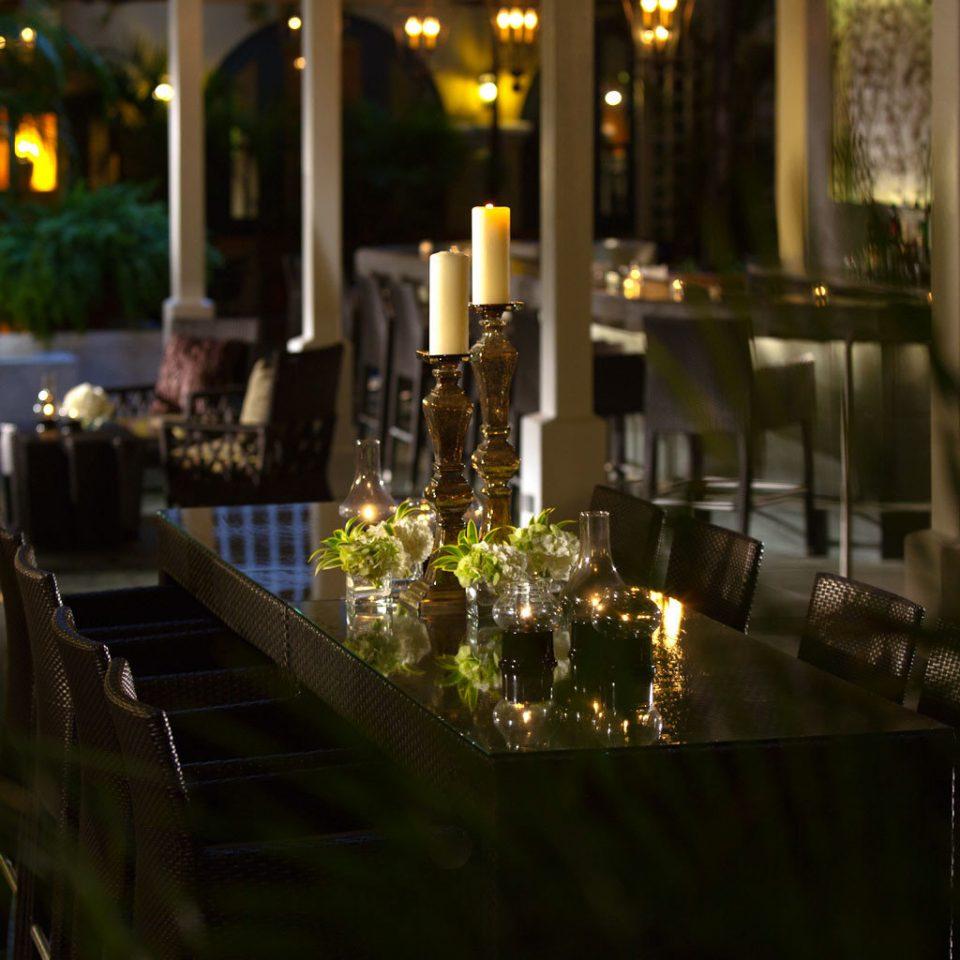 Elegant Hip Lounge Luxury night restaurant lighting evening wedding flower Bar