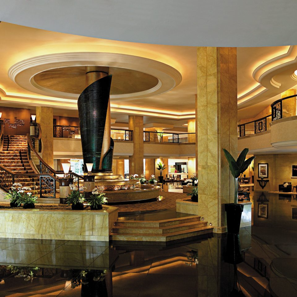 Elegant Lobby Luxury Modern Kitchen retail restaurant shopping mall Bar Island