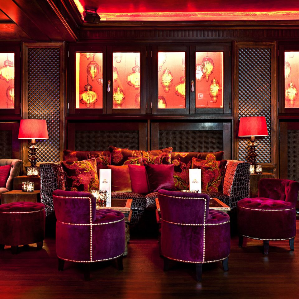 Elegant Lounge Luxury Modern pink Bar restaurant function hall nightclub