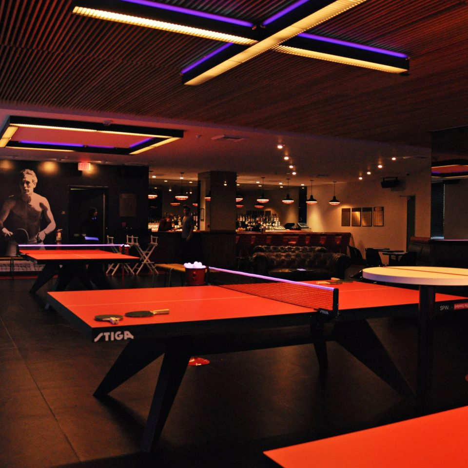 Entertainment Hip recreation room billiard room games red Bar cue sports indoor games and sports nightclub sports