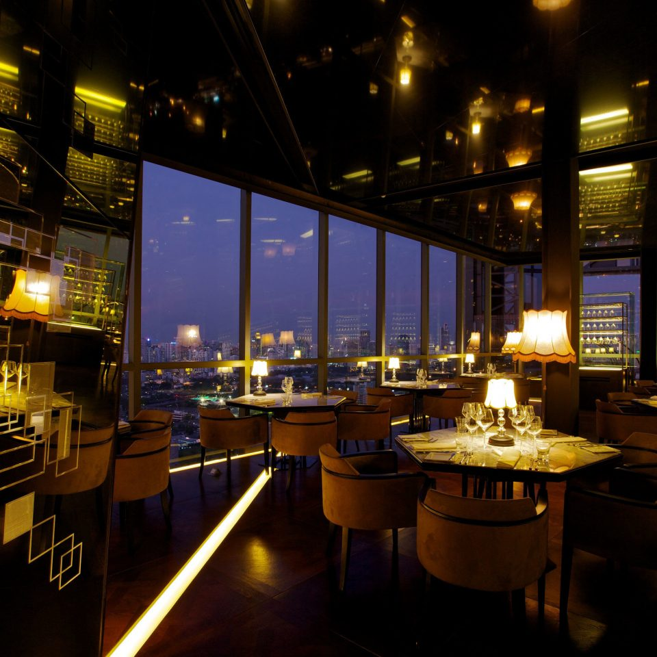 restaurant night lighting Bar evening