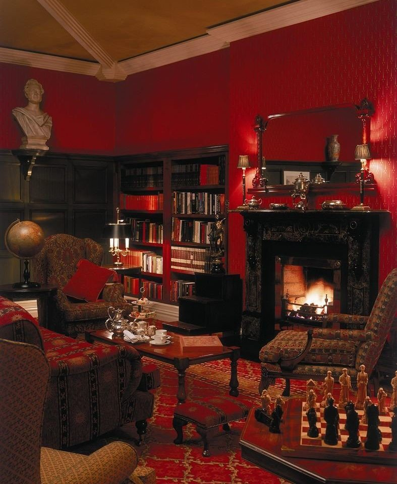Fireplace fire living room restaurant Bar