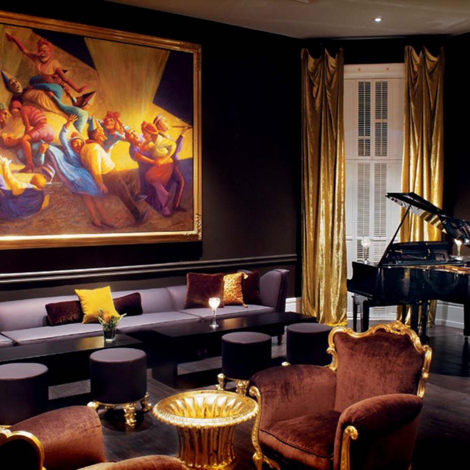Fireplace Historic Lounge Luxury living room Bar recreation room