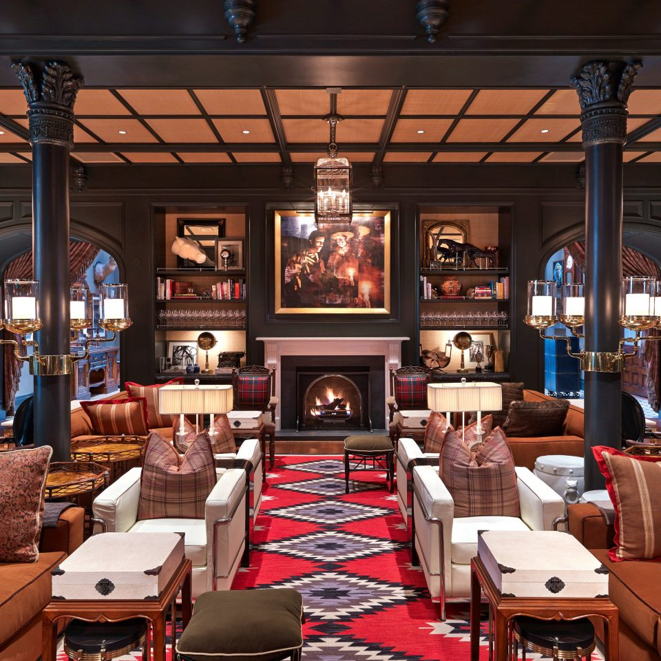 Fireplace Hotels Lobby Lounge Trip Ideas Winter restaurant café Bar