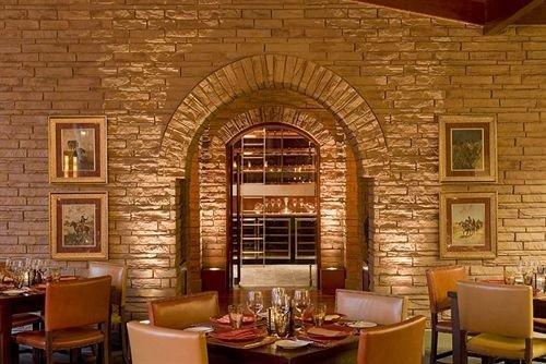 chair property restaurant Fireplace living room Lobby Bar