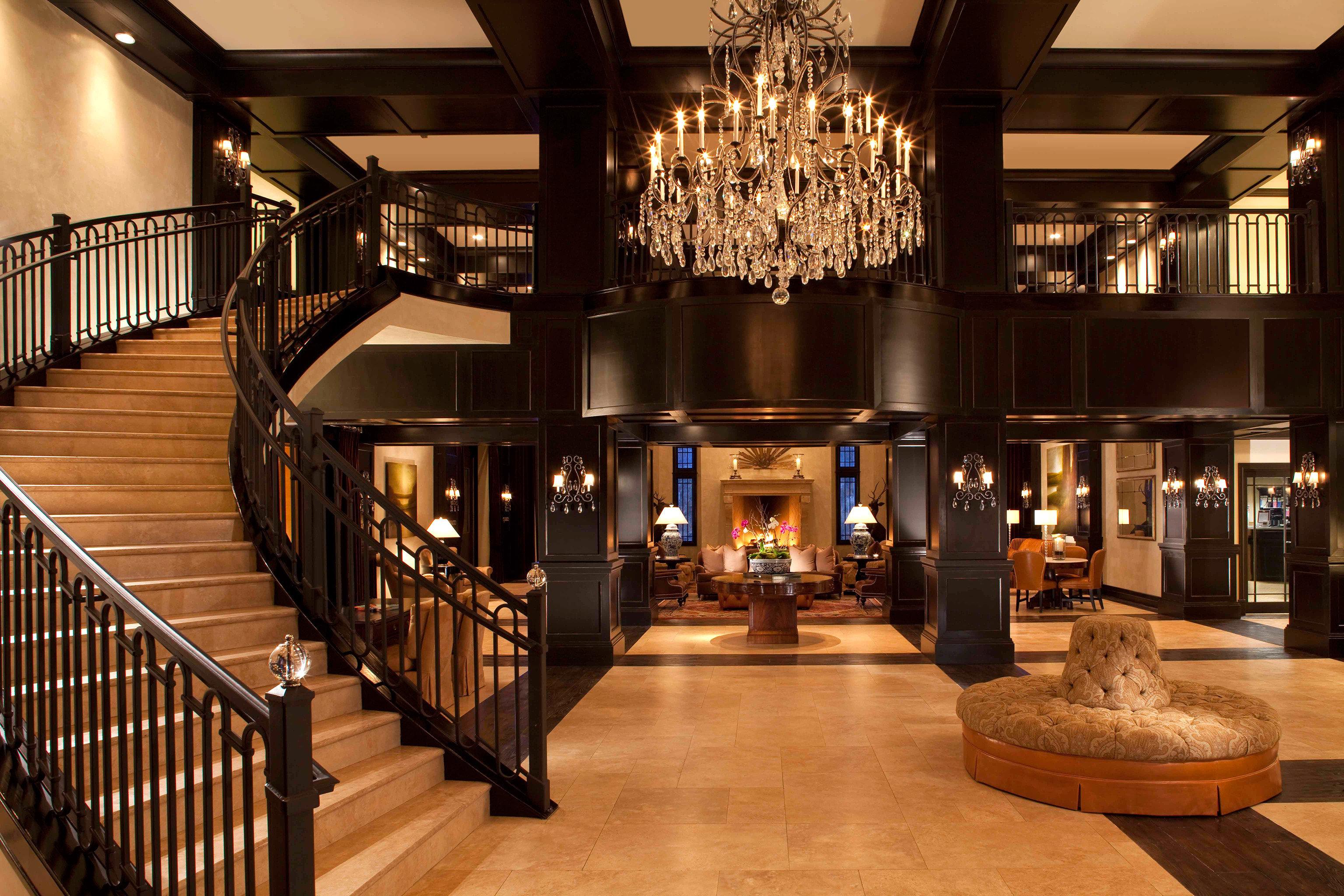 Fireplace Lounge Luxury Winery lighting Bar Lobby