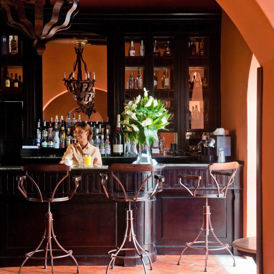 Bar Modern home lighting Fireplace restaurant