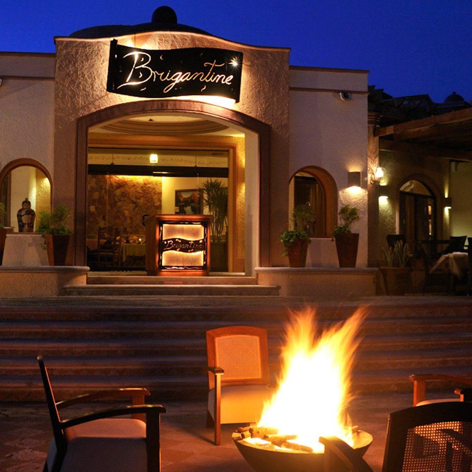 building lit night restaurant lighting candle home Bar Resort light Fireplace