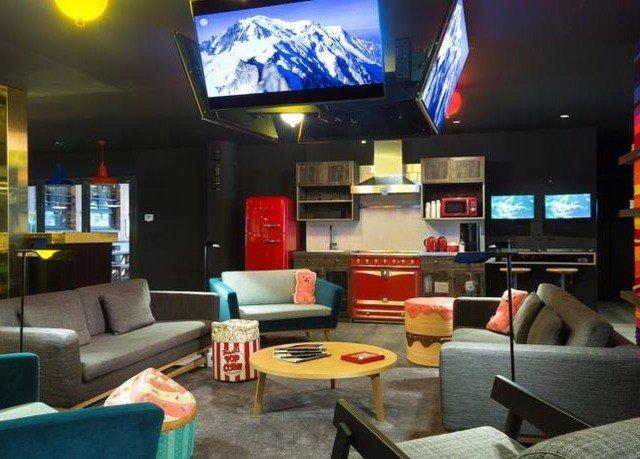 sofa living room recreation room Bar flat leather