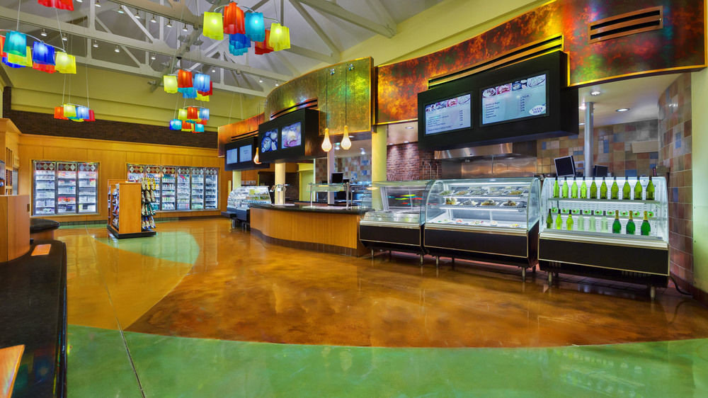 Bar food court