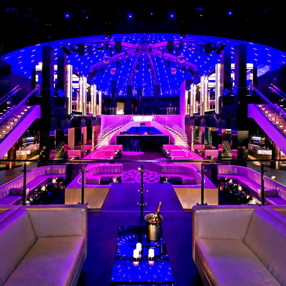 Bar Food + Drink Lounge Nightlife Party Play Resort nightclub night light stage
