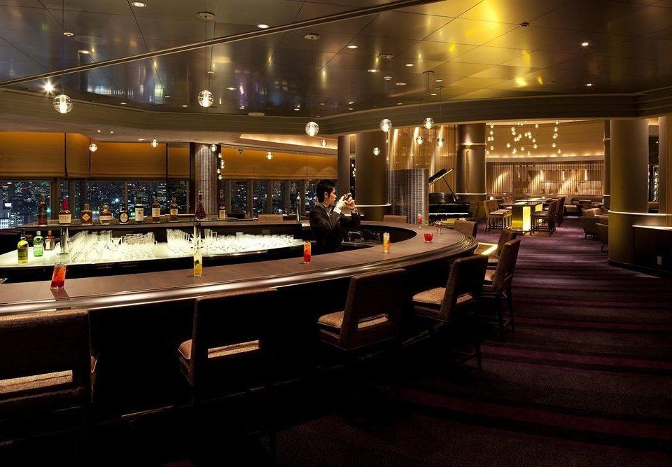 Bar function hall restaurant vehicle nightclub yacht night