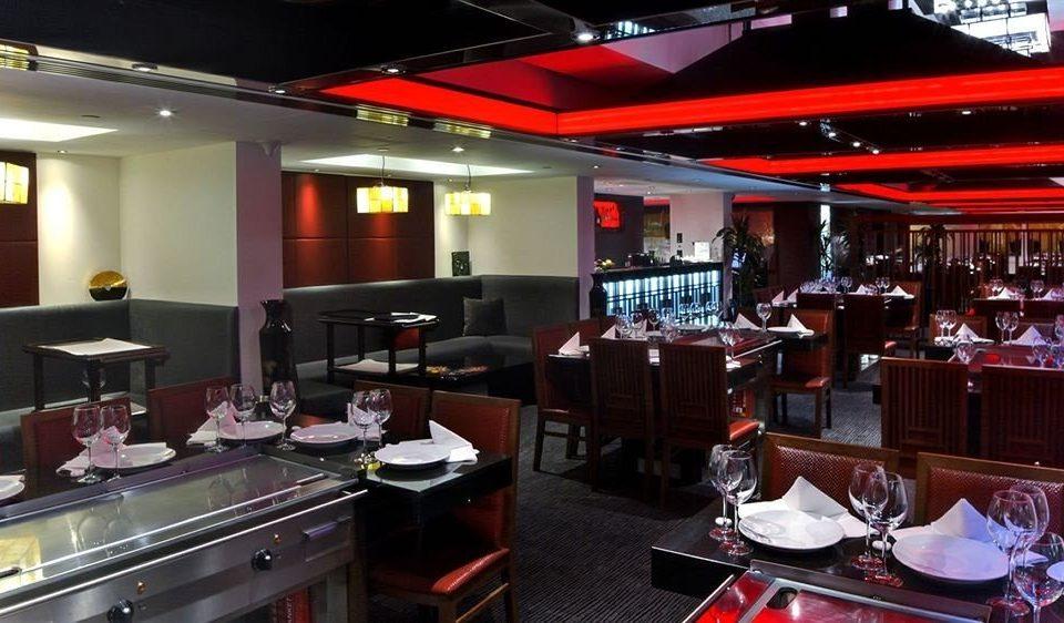 red restaurant function hall Bar
