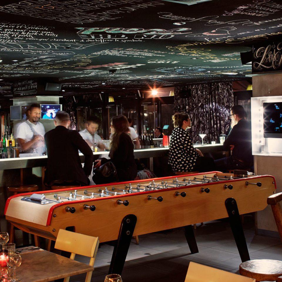 recreation room Bar games restaurant