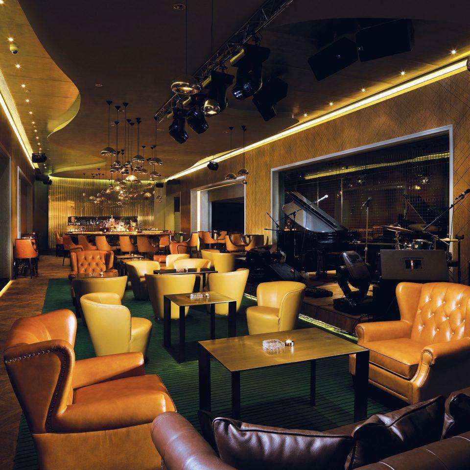 Hip Lounge Modern Lobby Bar restaurant living room