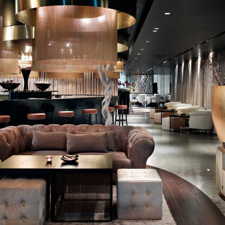 Hip Lounge Luxury Modern sofa Lobby living room lighting home restaurant Bar leather