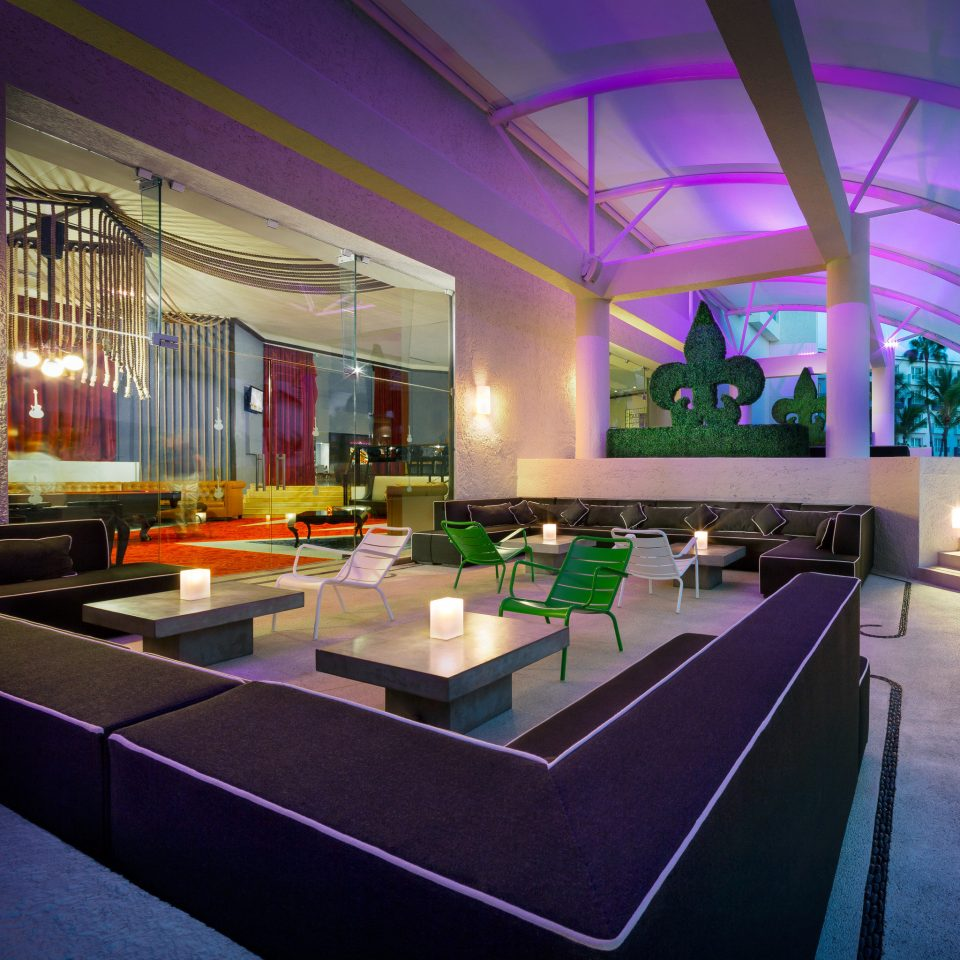 Hip Lounge Modern Lobby billiard room swimming pool recreation room lighting convention center Resort Bar