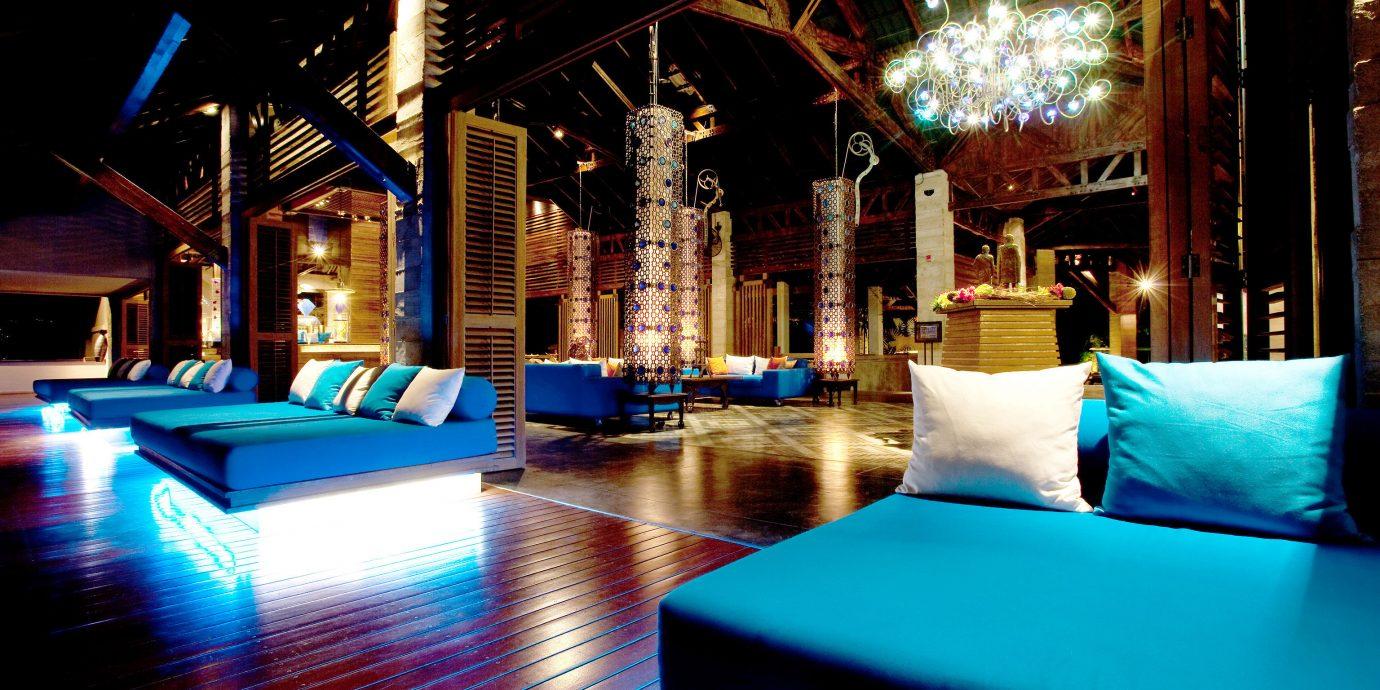 Hip Lounge Luxury Modern Nightlife Romantic light night Bar Resort lighting restaurant swimming pool nightclub