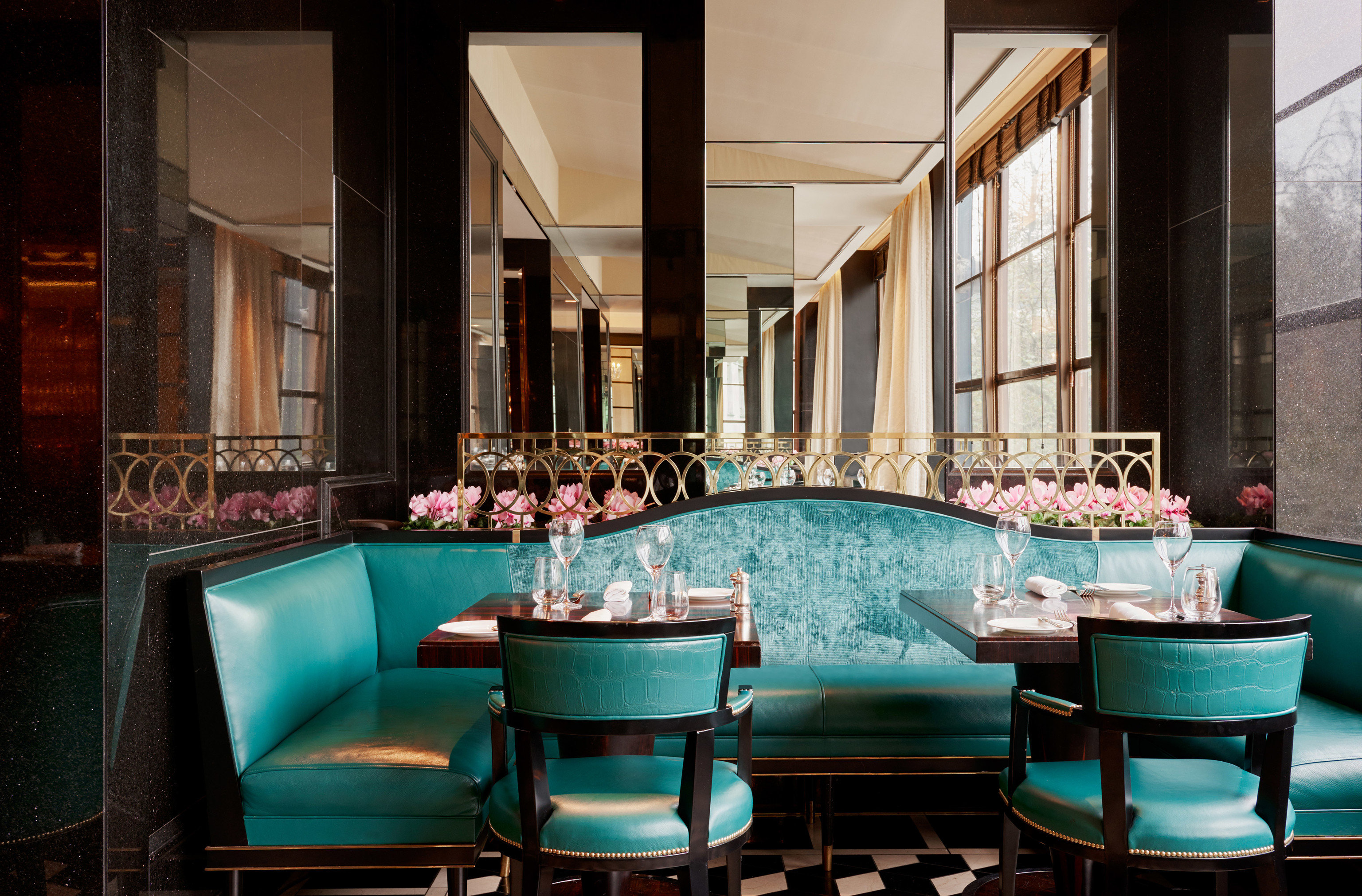 Hotels chair restaurant Bar Lobby blue function hall set