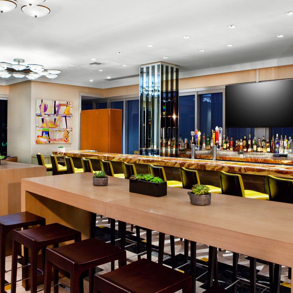 restaurant function hall Bar conference hall convention center Island colored