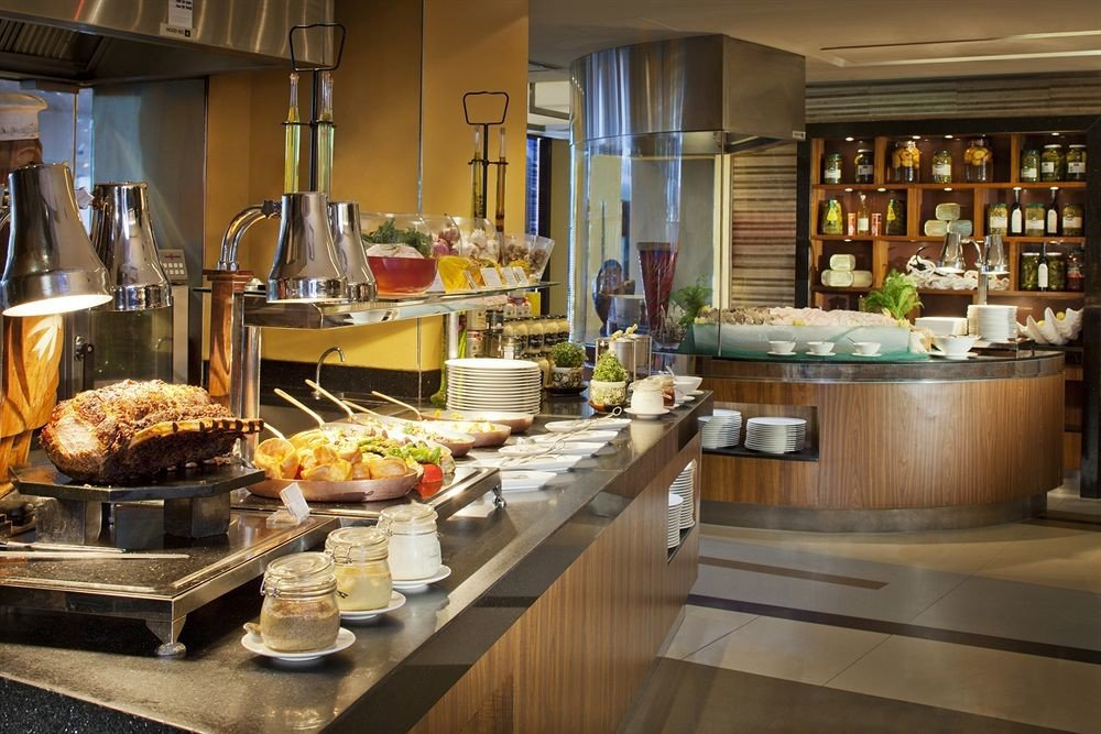 counter Kitchen buffet brunch delicatessen food restaurant bakery breakfast cuisine Bar Island