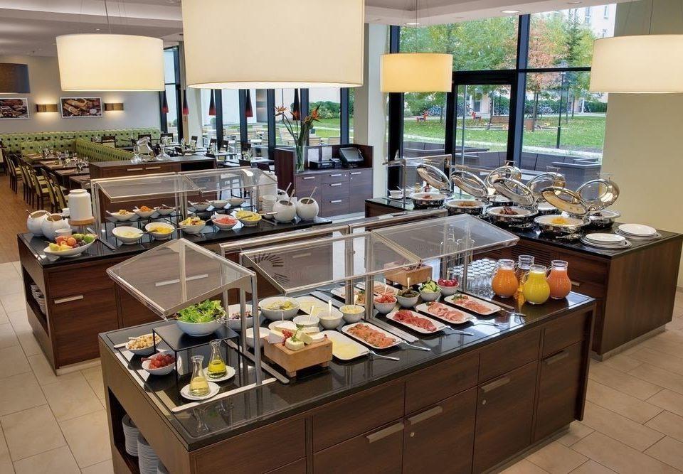 food counter buffet Kitchen brunch restaurant cuisine cafeteria Island Bar