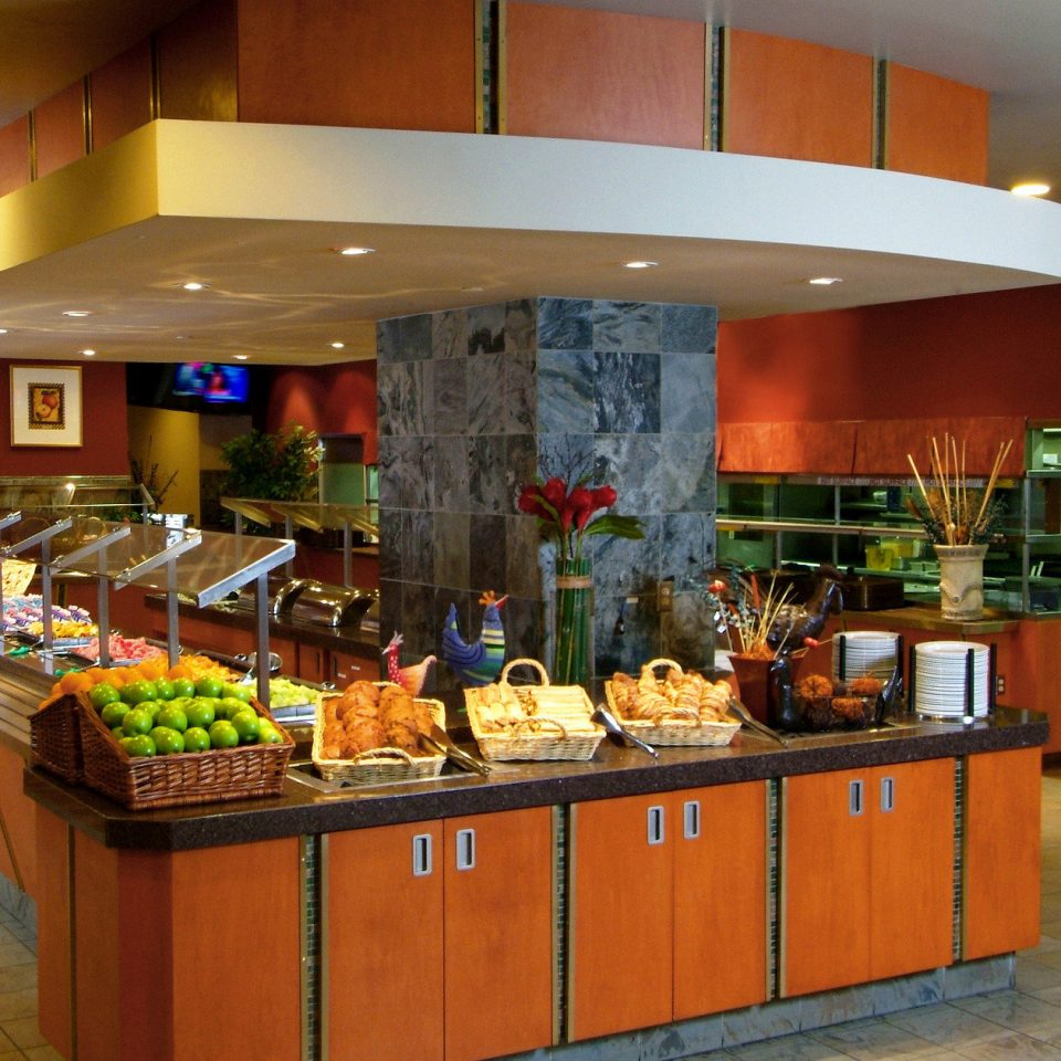 Kitchen counter restaurant food Bar cuisine fast food restaurant cafeteria Island