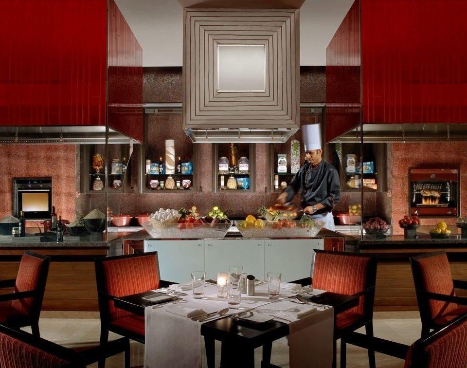 Kitchen home restaurant Bar Island