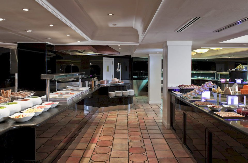 Kitchen Lobby restaurant counter cafeteria Bar Island