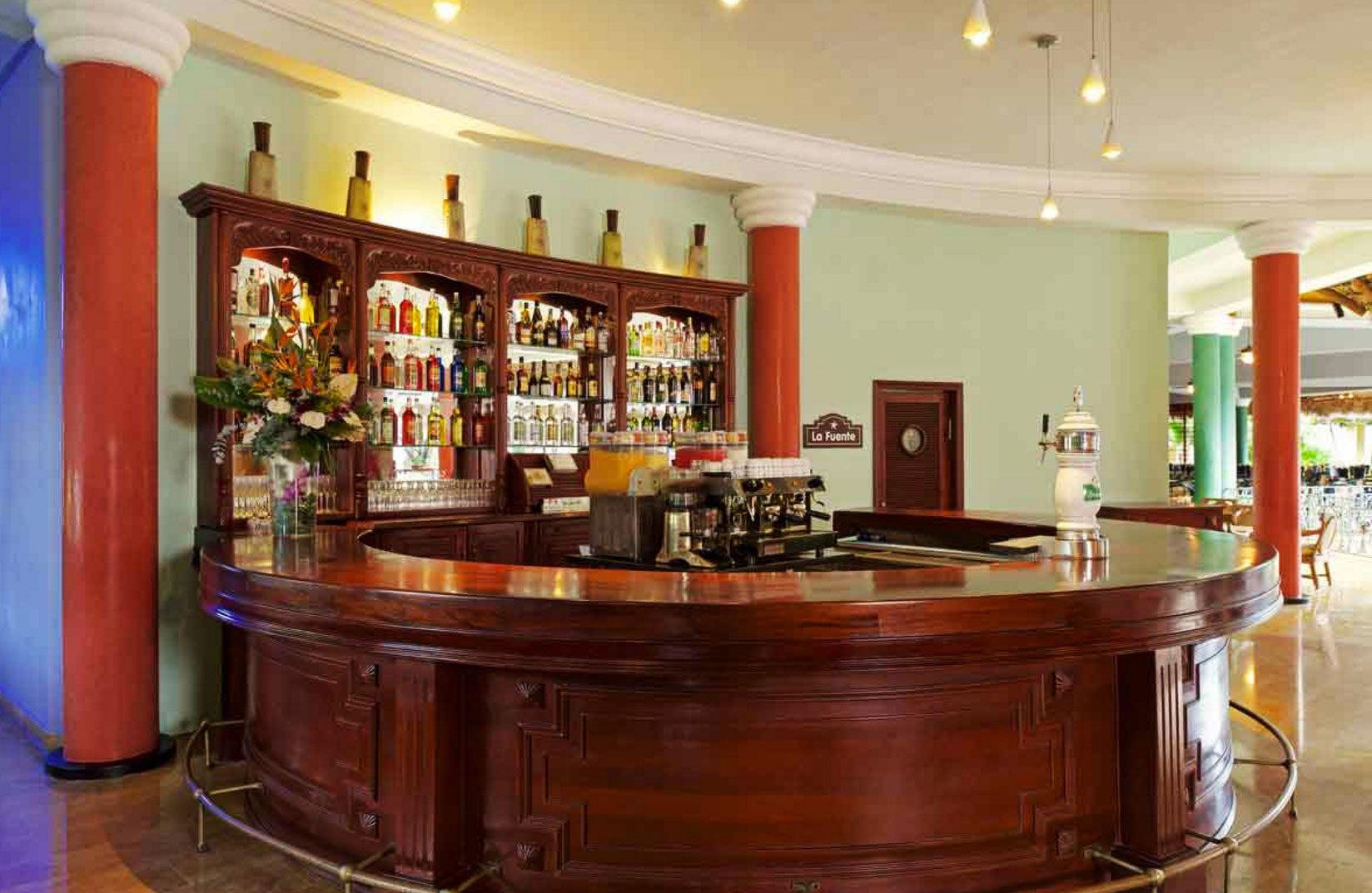 building Lobby Bar recreation room cabinetry Island