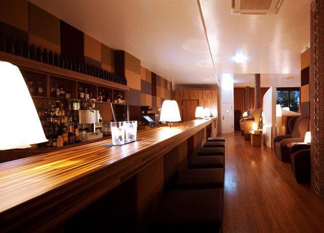 Lobby wooden lighting restaurant wood flooring Bar Island