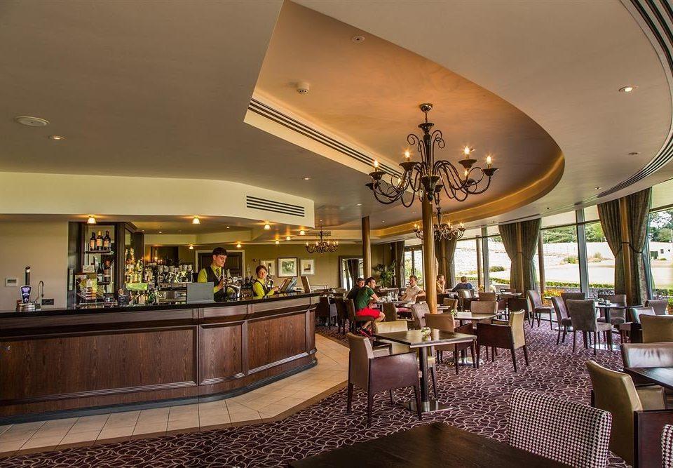 Lobby property restaurant function hall Resort Bar Island