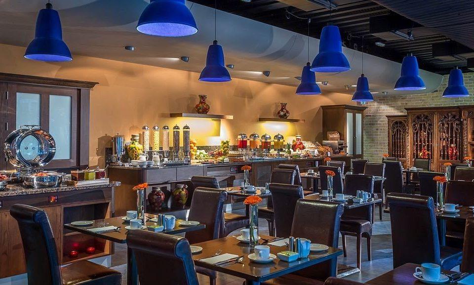 restaurant function hall Resort Bar set cluttered Island