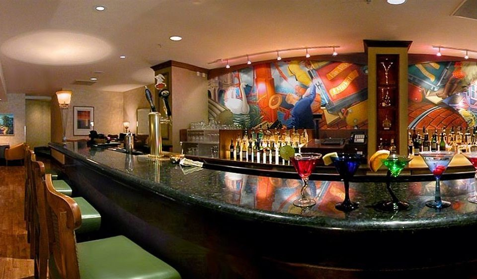 Bar Resort counter restaurant Island