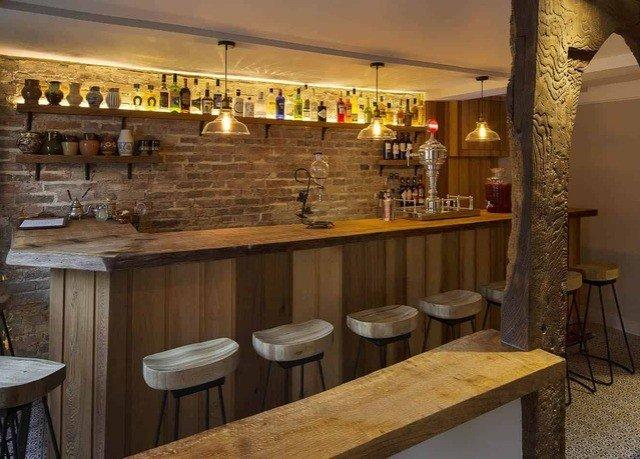 Kitchen restaurant Bar wooden counter appliance