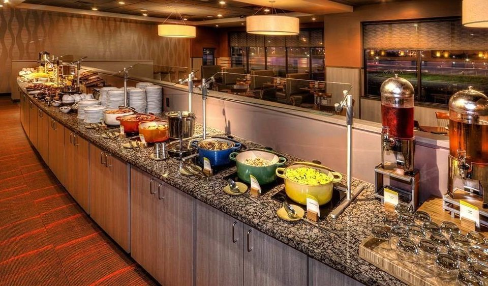 Kitchen counter Bar restaurant buffet food