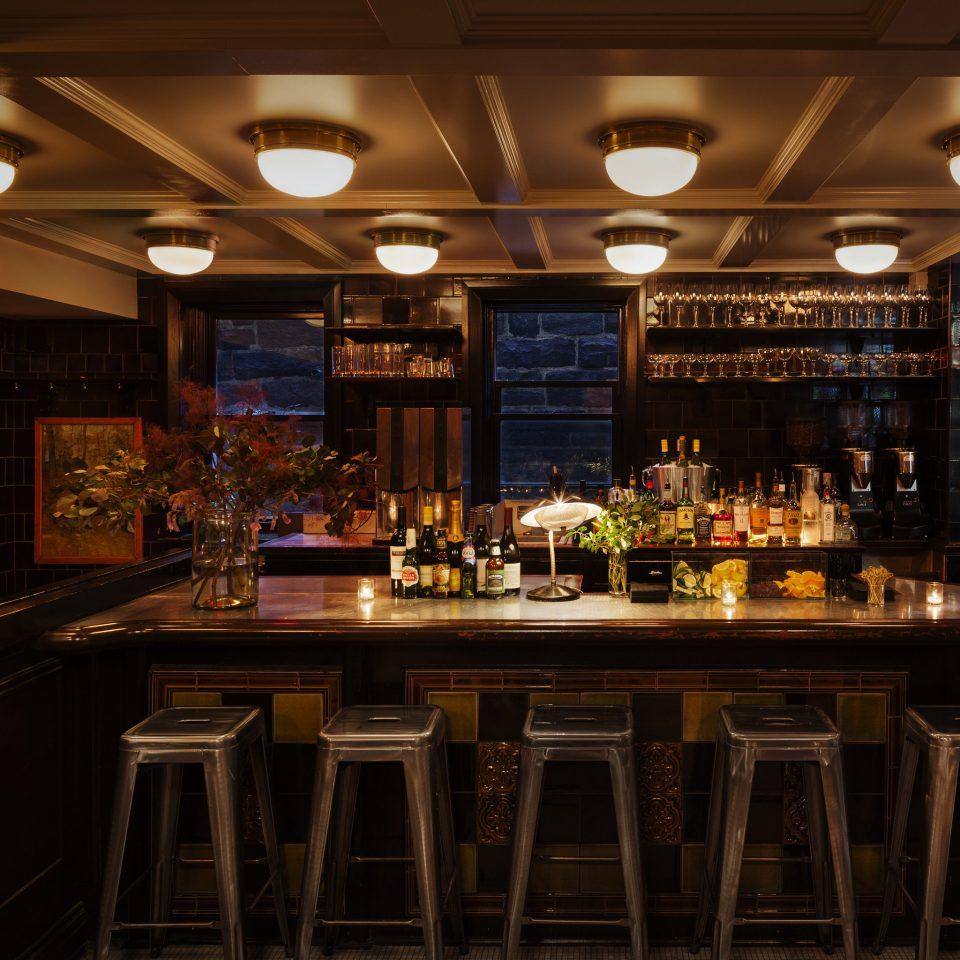Kitchen restaurant Bar lighting tavern pub night café
